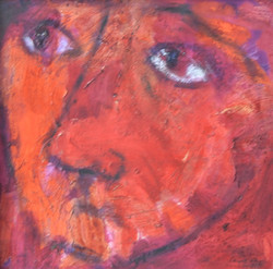 25-Kırmızı Portre II