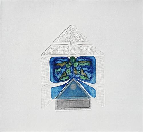 01- Mavi Kurdele 2001 37,5x27,5  cm