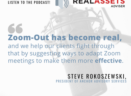 Listen to our Real Assets Adviser Podcast Ep!