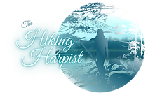 HHiking Harpist Logo World Dark The Crop