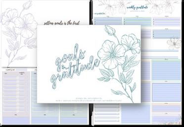 Goals & Gratitude