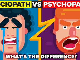 What's the difference between a sociopath and psychopath?