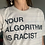 Thumbnail: Your Algorithm is Racist - Tee in Beige