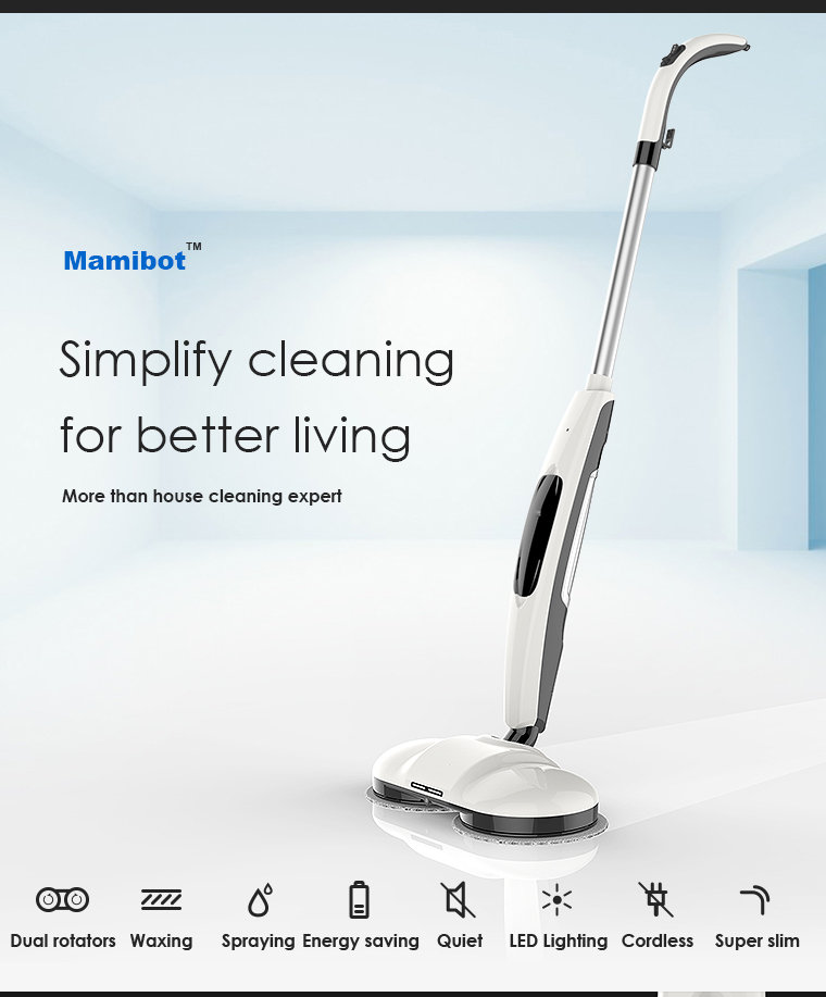 Mamibot MOPA380 NEW home use waxer, polisher, electric mop, cleaner