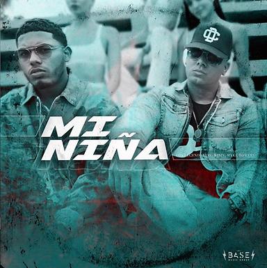 """WISIN & MYKE TOWERS PRESENTAN""""MI NIÑA"""" BAJO EL ALERO DE LA BASE MUSIC"""