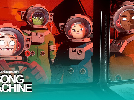 "GORILLAZ PRESENTA EL EPISODIO 6 DE""SONG MACHINE"":""STRANGE TIMEZ"" FT. ROBERT SMITH"
