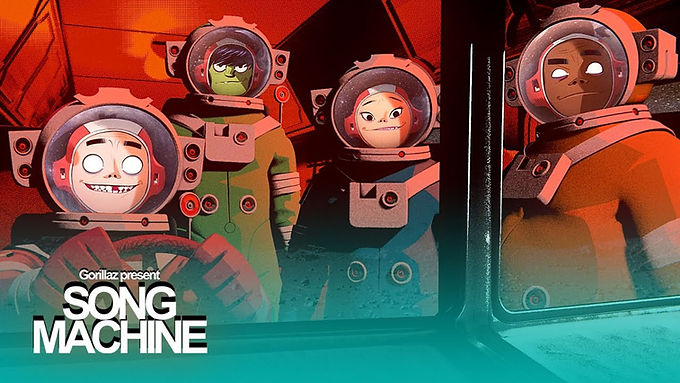"GORILLAZ PRESENTA EL EPISODIO 6 DE""SONG MACHINE"":""STRANGE TIMEZ"" FT. ROBERT SMITH"