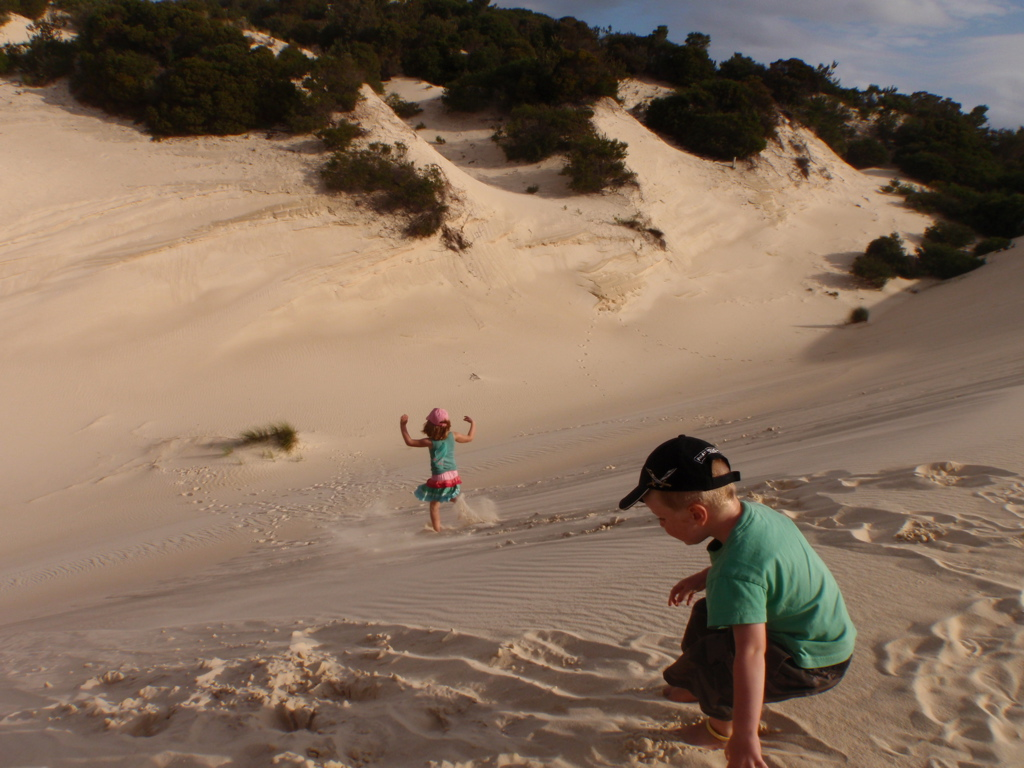Sand Dunes Nearby our Children Playing.jpg