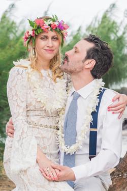 Wedding at Waipouli beach.