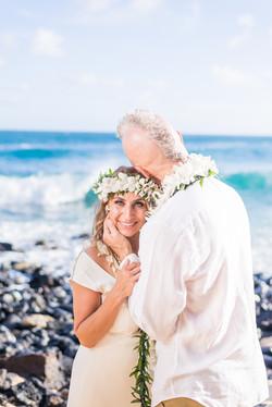 Kauai Wedding Shipwrecks Beach.