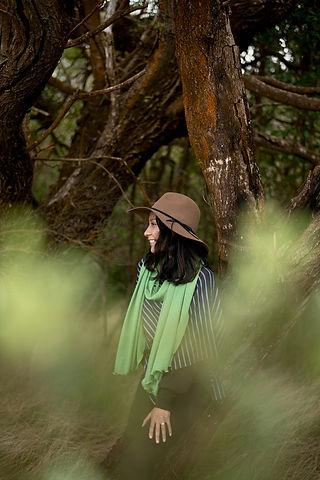 StripedPoncho-GreenShawl4-MadAboutMerino