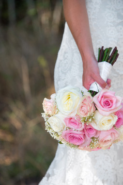 Beautiful Bouquet #1L (pink & white)
