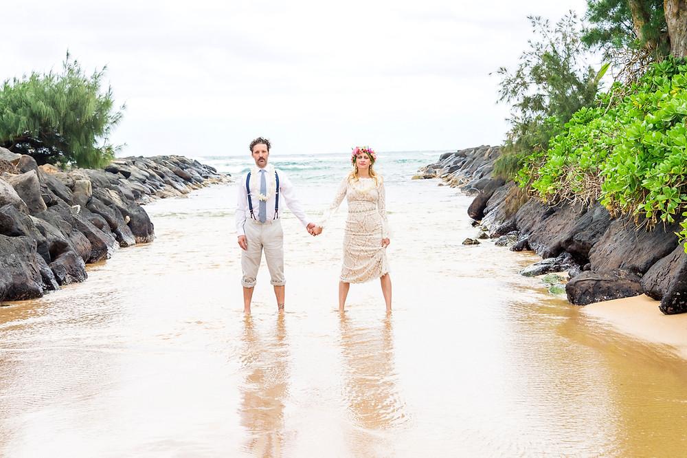 kauai wedding photo