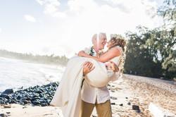 Wedding Shipwrecks beach.
