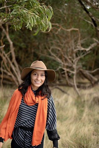 StripedPoncho-OrangeShawl4-MadAboutMerin
