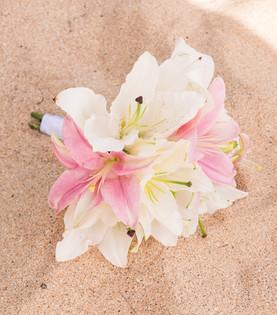 Beautiful Bouquet #3 soft pink & white