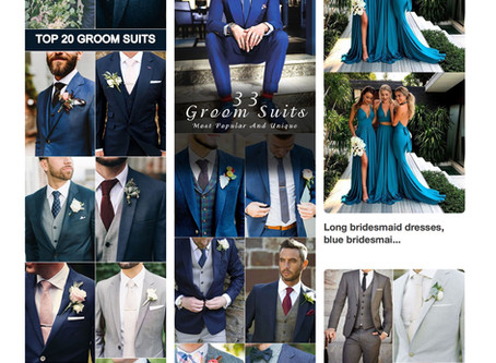 Blue Suits are all the Rage...