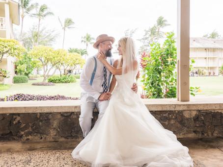 Why you should get married on Kauai rather than Maui, Oahu, or the Big Island...