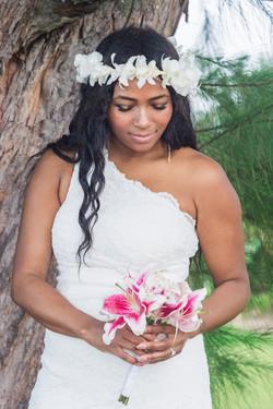 Wedding at Hanalei Bay.