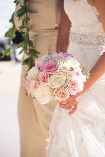 Beautiful Bouquet #1 (pink & white)