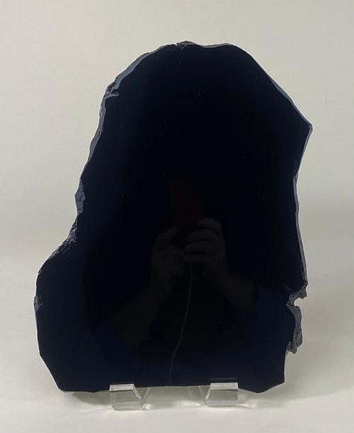 Black Obsidian Mirror