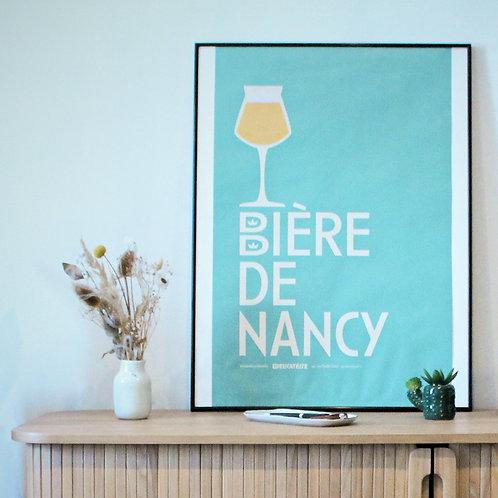 """Affiche """"Bière de Nancy"""""""