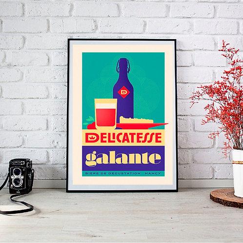 "Affiche ""La Galante"""