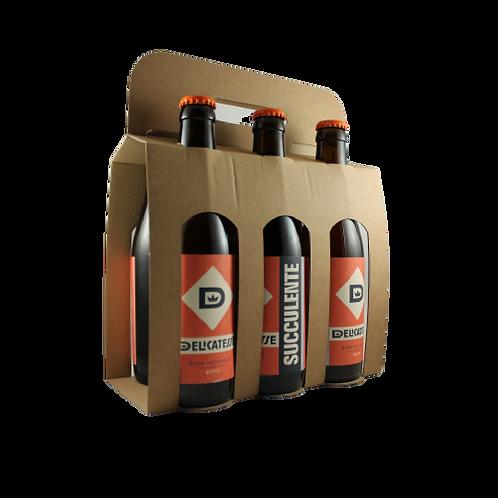 La Succulente - Bière Ambrée 6x33cl