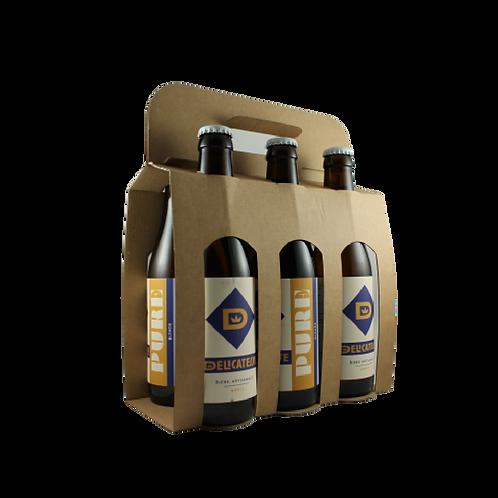 La Pure - Bière Blonde 6x33cl
