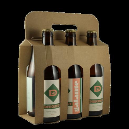 La Galante - Bière Blonde  6x33cl