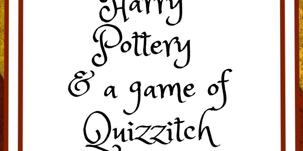 Harry Pottery & a Game of Quizzitch