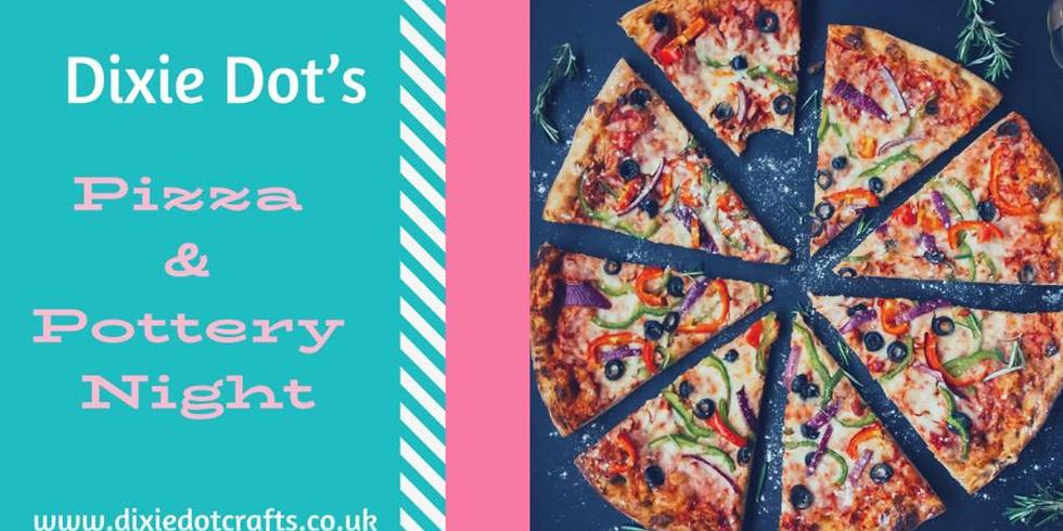 Adults Pizza & Pottery Night