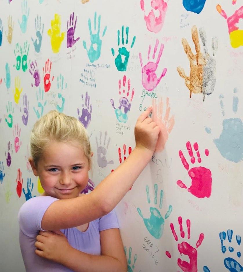 Handprint Party Wall