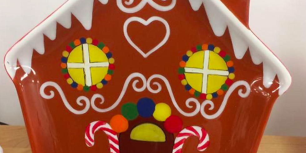 Learn to Paint: Gingerbread House