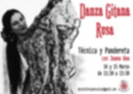 Danza Gitana Rusa Libres y Descalzas Joa