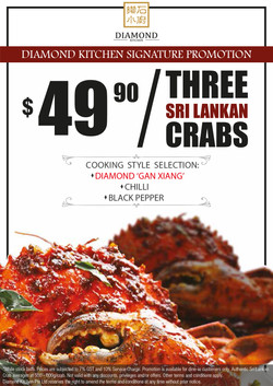 $49.90 for 3 crabs