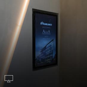 Digital signagevoor eventruimte