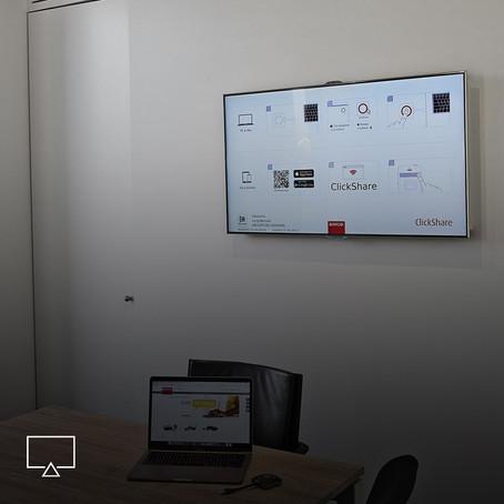 Innovatie dankzij digitale schermen op kantoor