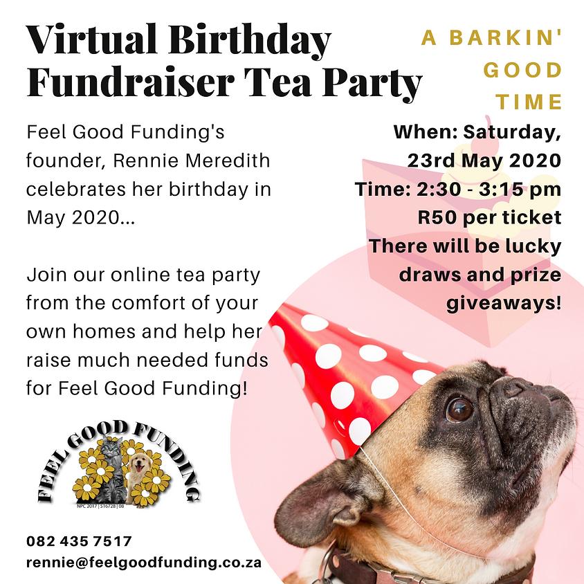 Virtual Birthday Fundraiser Tea Party