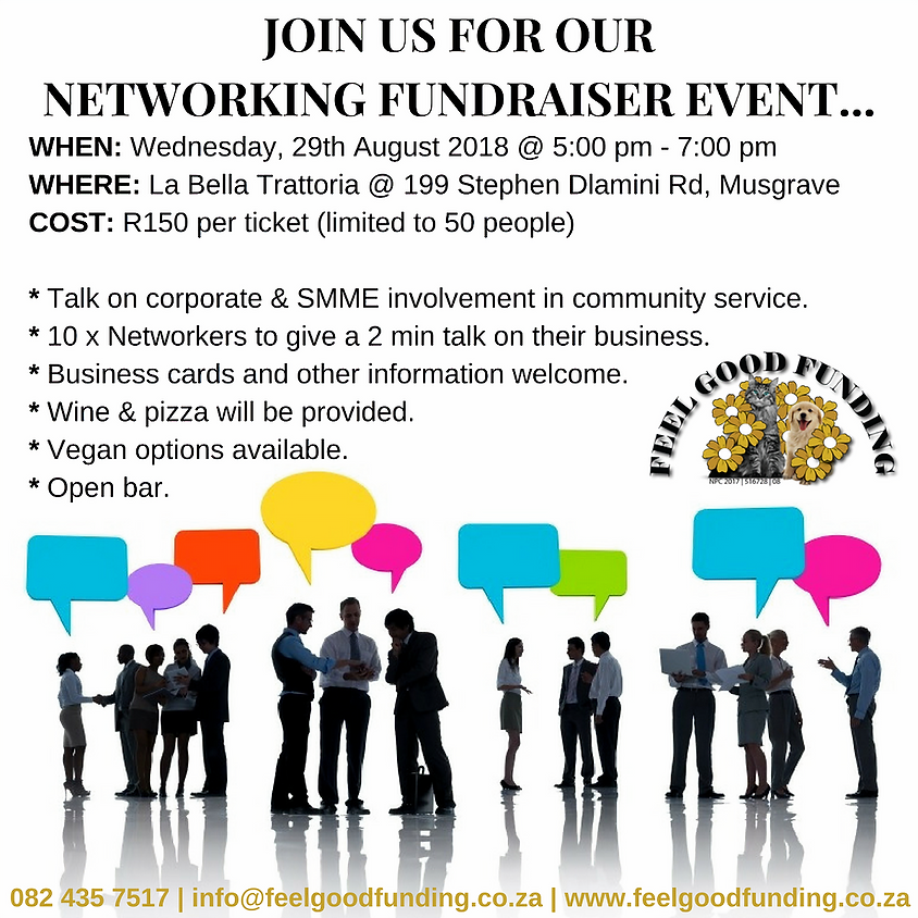 NETWORKING FUNDRAISER EVENT