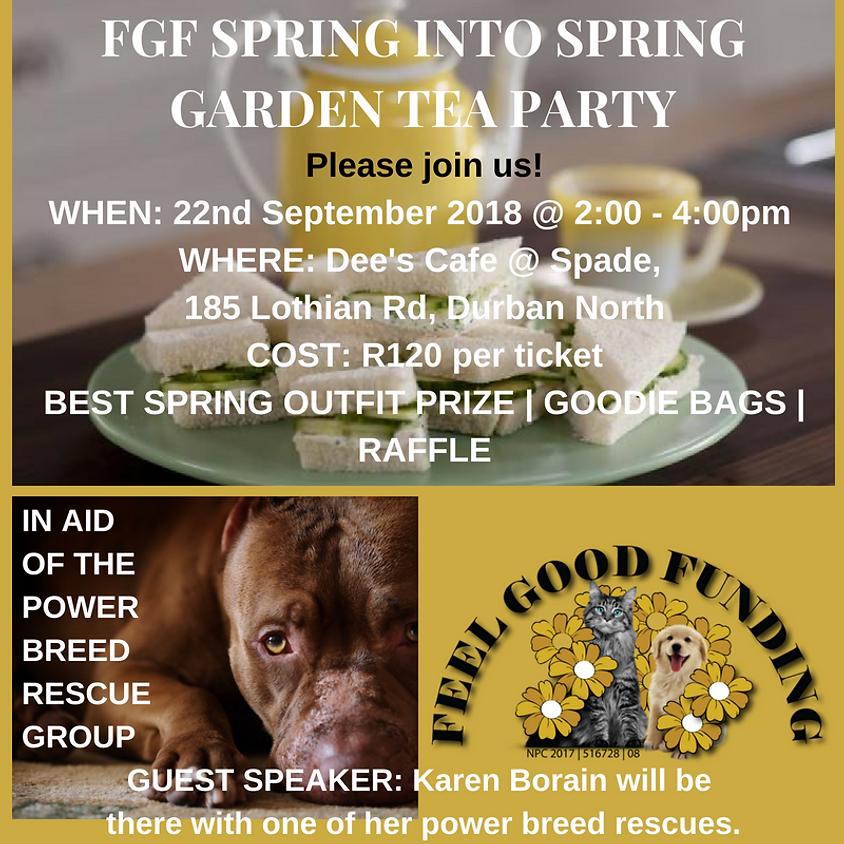 SPRING GARDEN TEA PARTY