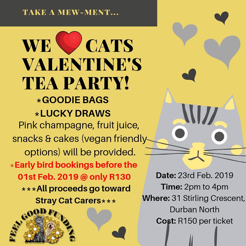 WE <3 CATS VALENTINE'S TEA PARTY