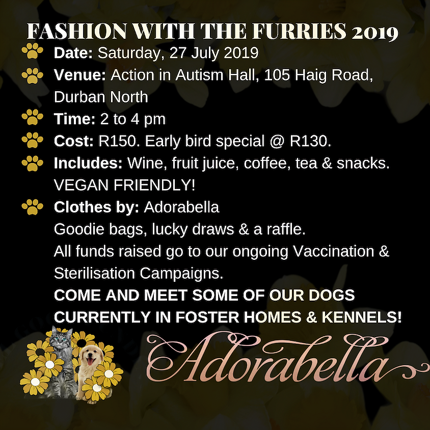 FASHION WITH THE FURRIES 2019
