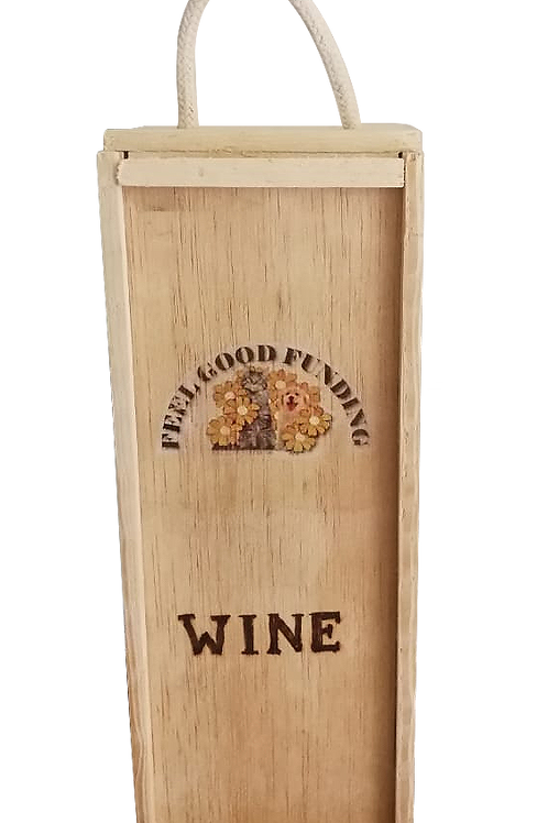 Personalised Feel Good Funding Wine Box