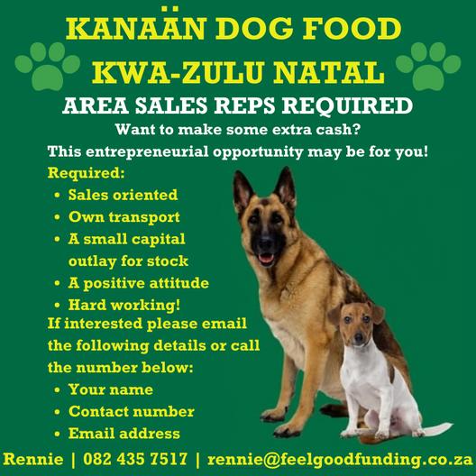 KANAAN DOG FOOD AD