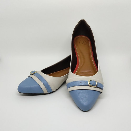 Sapatilha Comfort Azul Celeste