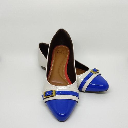 Sapatilha Comfort Azul Royal