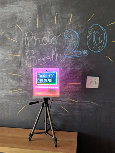 Photobooth Rainbow LEDs