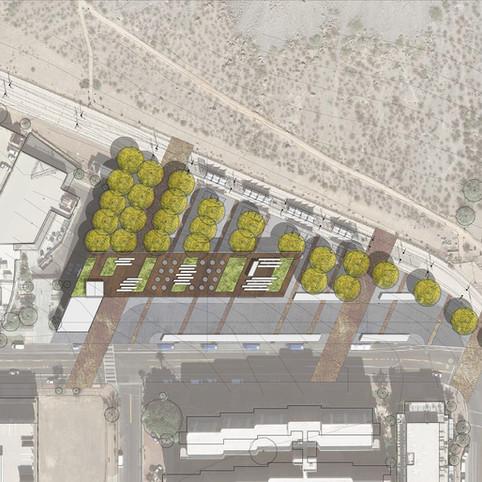 Hayden Library Rendering Site Plan