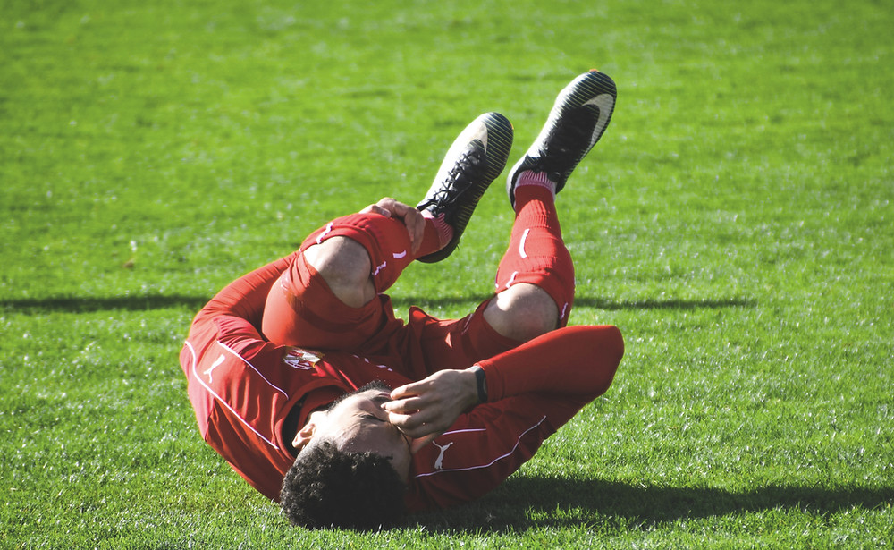 Common types of sporting injuries